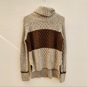 Madewell XS High-low turtleneck sweater